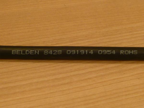 ★ 即決 BELDEN 8428 RCA-ステレオミニプラグ3.5mm 変換ケーブル 1m Yケーブル 金メッキ NYS352AG NYS231BG-LL★_画像10