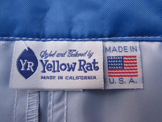 """YELLOW RAT SURF TRUNKS WINDANSEA SURF CLUB MODEL 32"""" BLUE / イエローラット ウィンダンシーサーフクラブ 32インチ ブルー_画像5"""