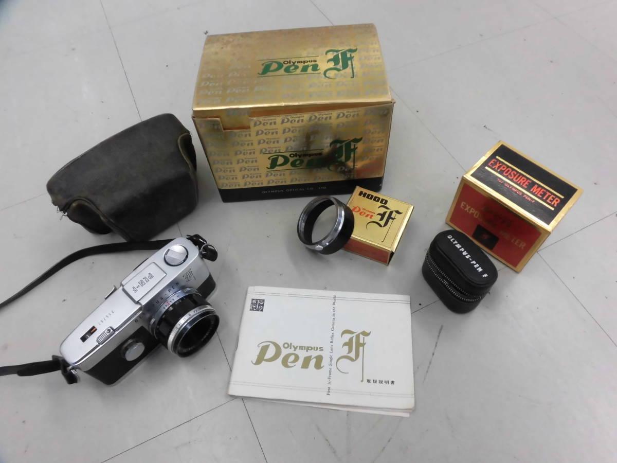 OLYMPUS/オリンパス PEN-F (255762) カメラ D.Zuiko Auto-S 1:2.8 f=38mm (106175) 付属品あり ジャンク