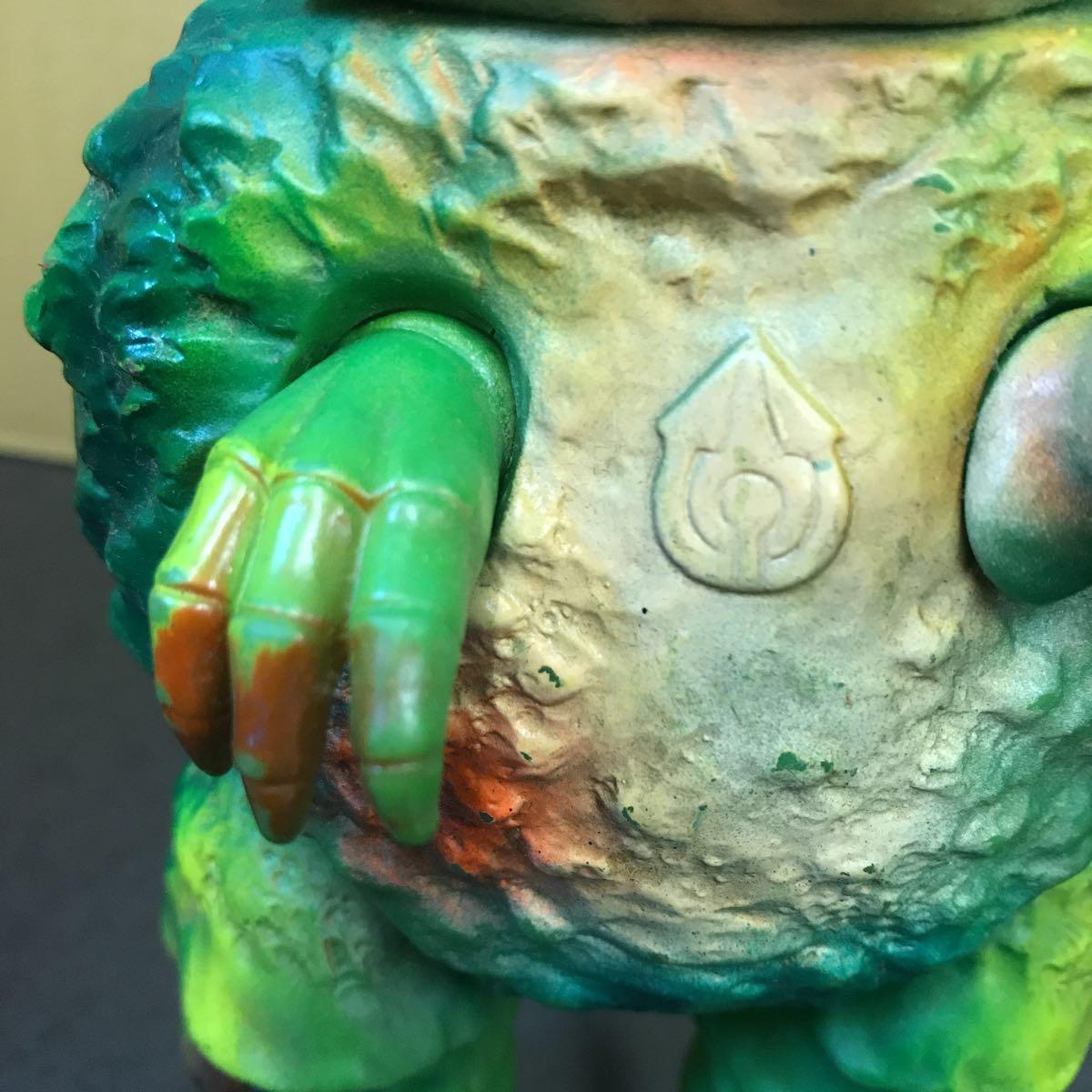 ガラモン ウルトラマン 怪獣 ジャンク ソフビ ブルマァク 23cm 当時物 レトロ おもちゃ_画像7