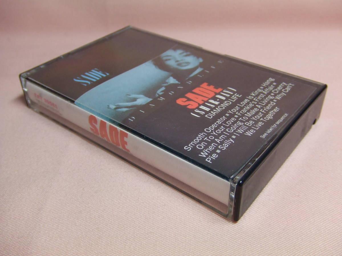 8本同梱可能★送料100円★カセットテープ★シャーデー/ダイアモンド・ライフ SADE DIAMOND LIFE_画像3
