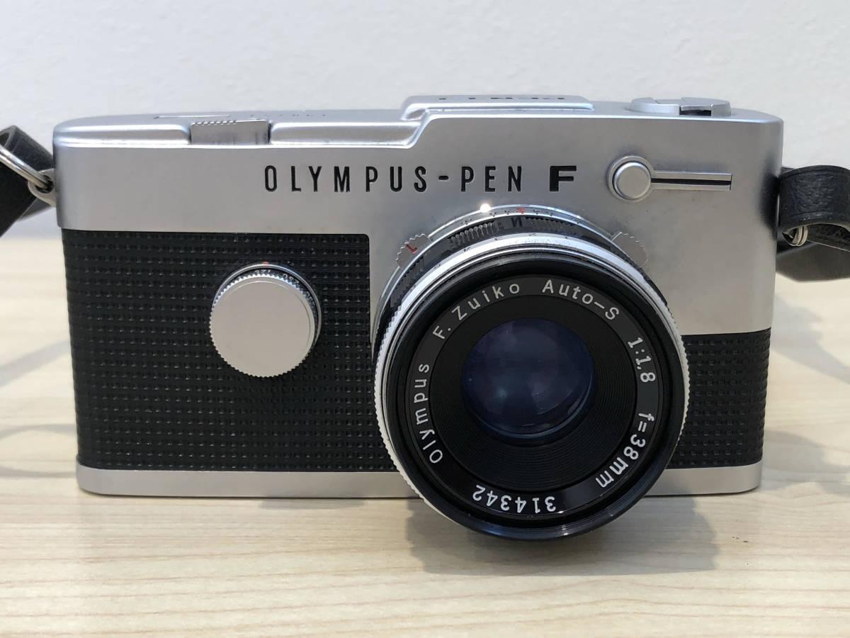 【6021】OLYMPUS PEN-FT + F.ZUIKO AUTO-S 38mm F1.8 動作OK!_画像2