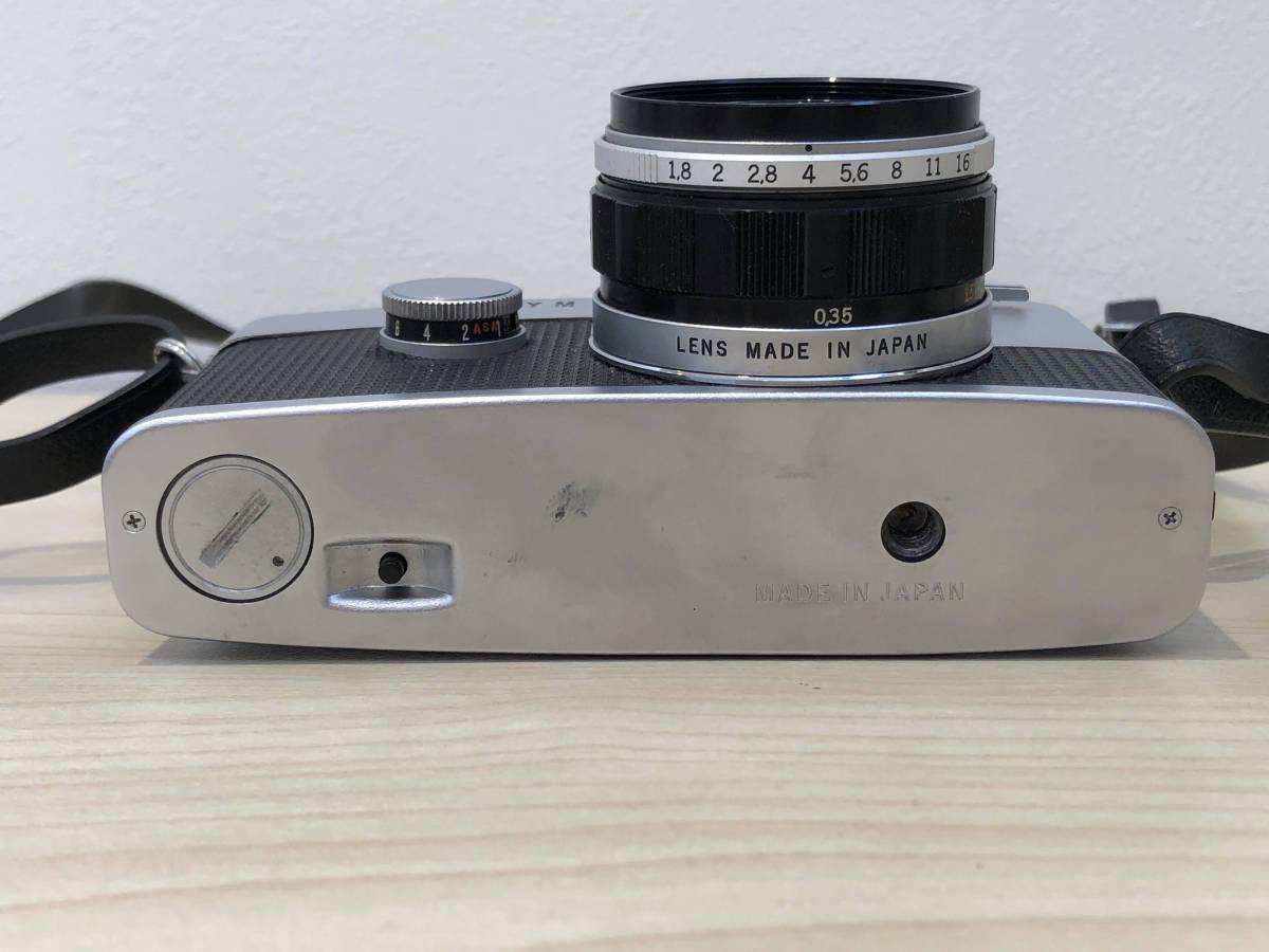 【6021】OLYMPUS PEN-FT + F.ZUIKO AUTO-S 38mm F1.8 動作OK!_画像4