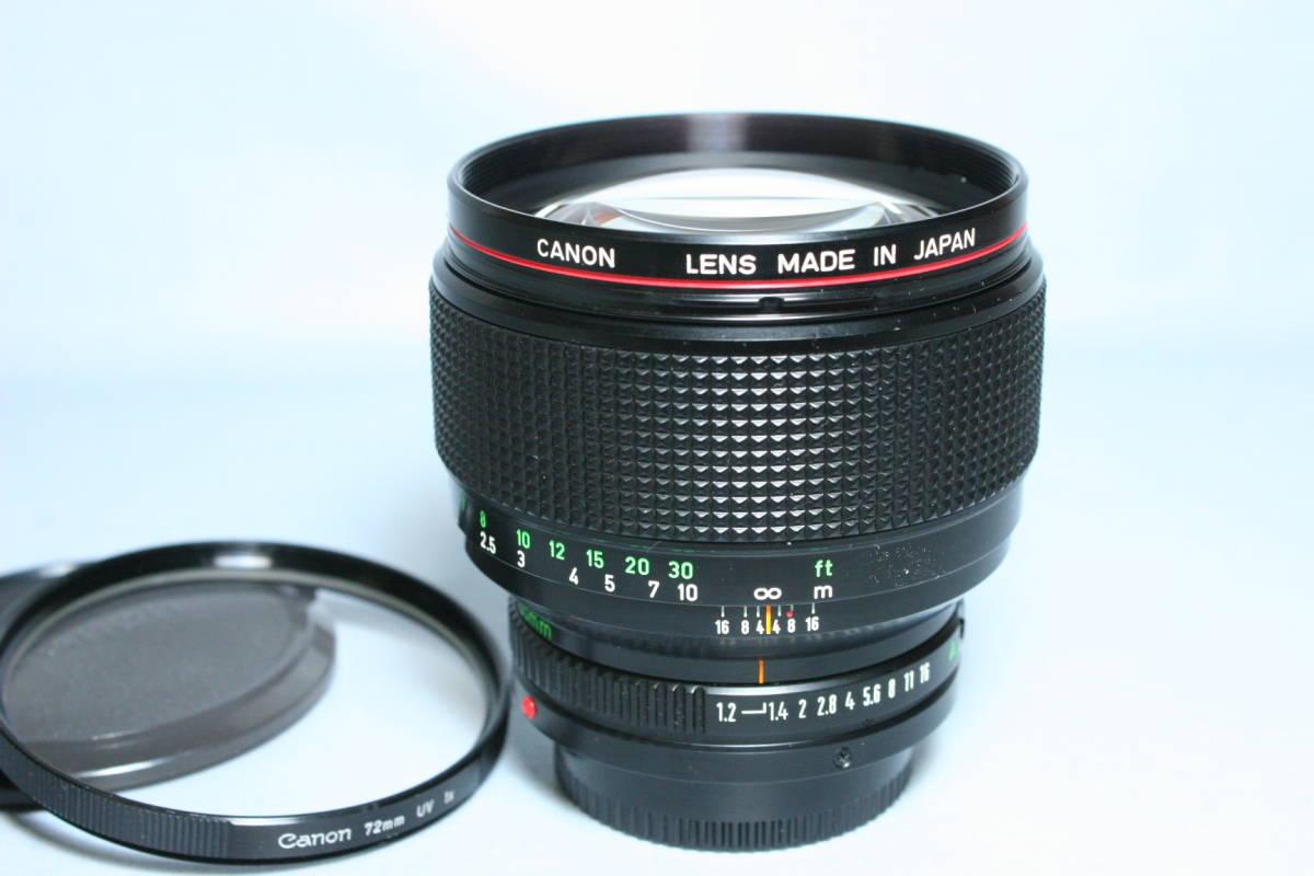 L LENS・単焦点・中望遠/Canon New FD 85mm 1:1.2L