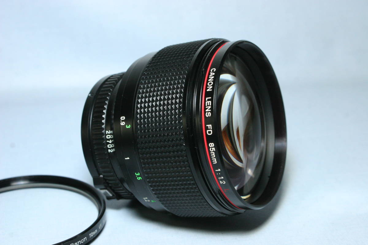 L LENS・単焦点・中望遠/Canon New FD 85mm 1:1.2L_画像2