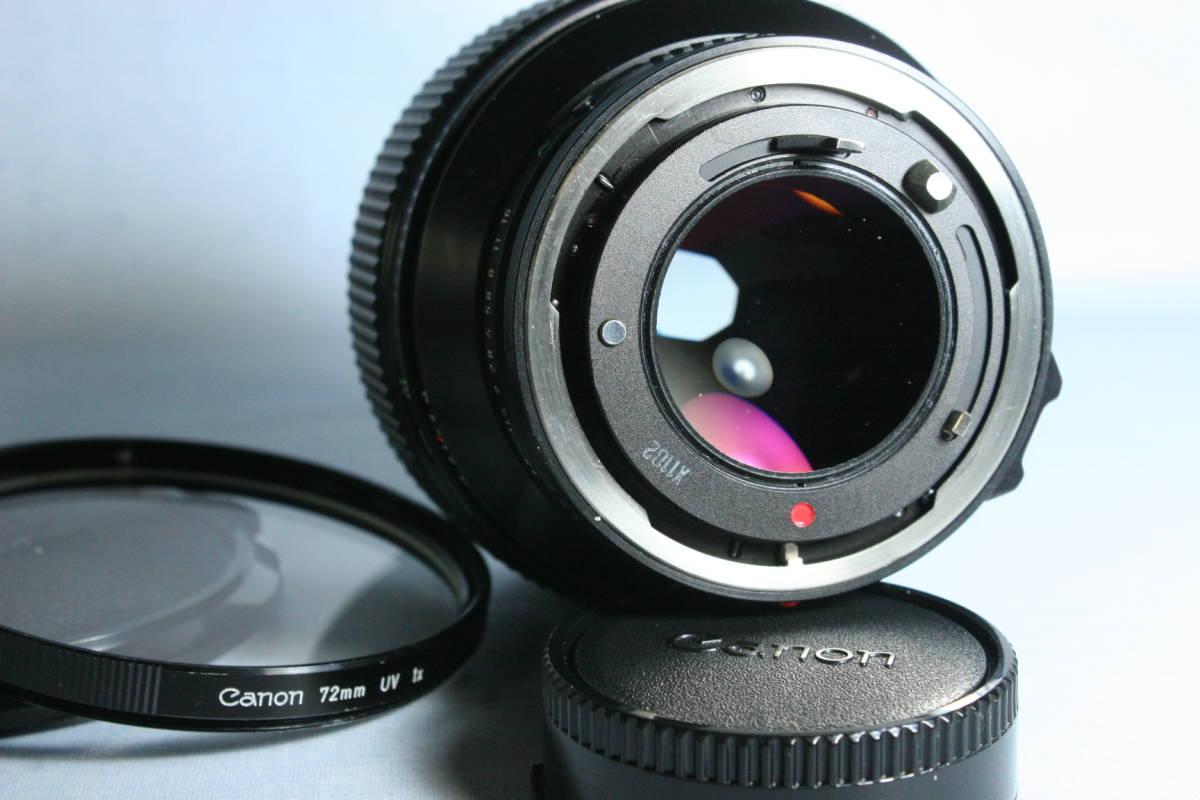 L LENS・単焦点・中望遠/Canon New FD 85mm 1:1.2L_画像4