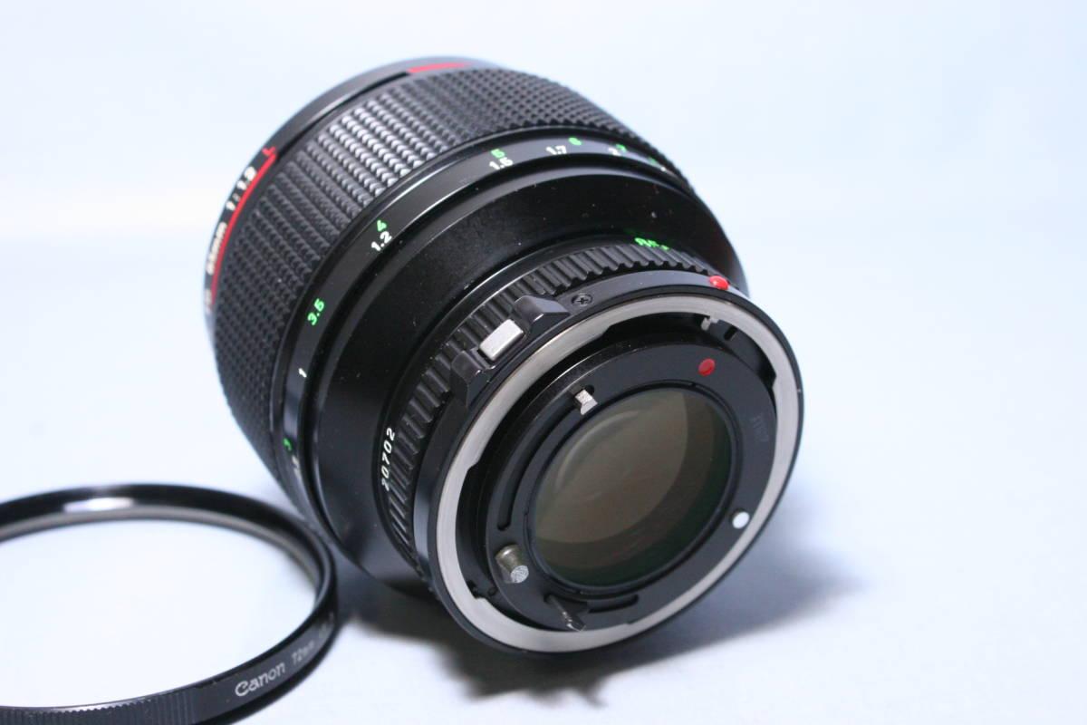 L LENS・単焦点・中望遠/Canon New FD 85mm 1:1.2L_画像5