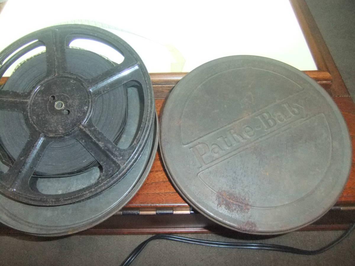 戦前の映画 軍人? フランス製8ミリフィルム ケース付 /16ミリフィルムの時代