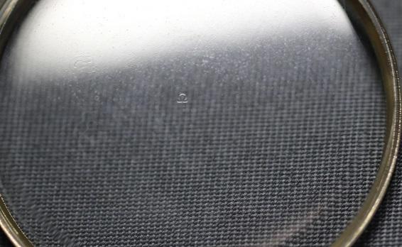 オメガ OMEGA 31.6mm DATE無し GP・金色リング 日付窓なし 風防 ガラス 新品