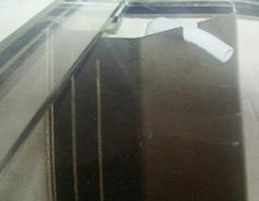 全国発送 アクリル水槽  1800x450x450H,8/底6mm,帯あり★営業所止め送料込_OFコーナー山型加工(オプション)