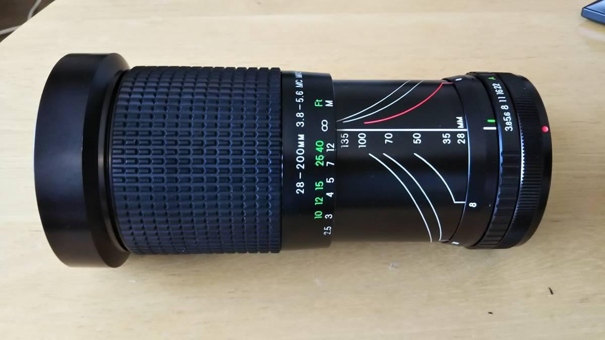COSINA 28-200mm F3.8-5.6 MC MACRO 動作OK #TCt7 512_画像3