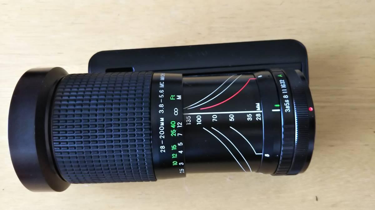 COSINA 28-200mm F3.8-5.6 MC MACRO 動作OK #TCt7 512_画像6
