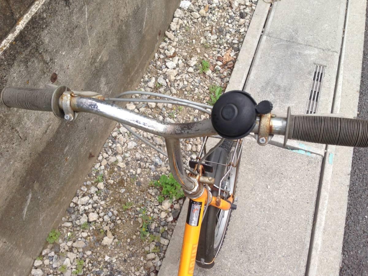 【中古】折りたたみ 自転車 OTOMO(RAYCHELL) ARUN(アラン)ART-RUN 16型_画像2