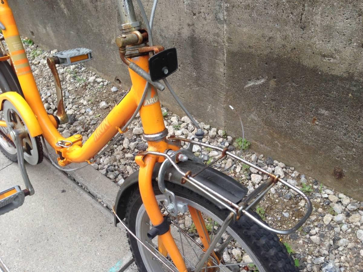 【中古】折りたたみ 自転車 OTOMO(RAYCHELL) ARUN(アラン)ART-RUN 16型_画像3
