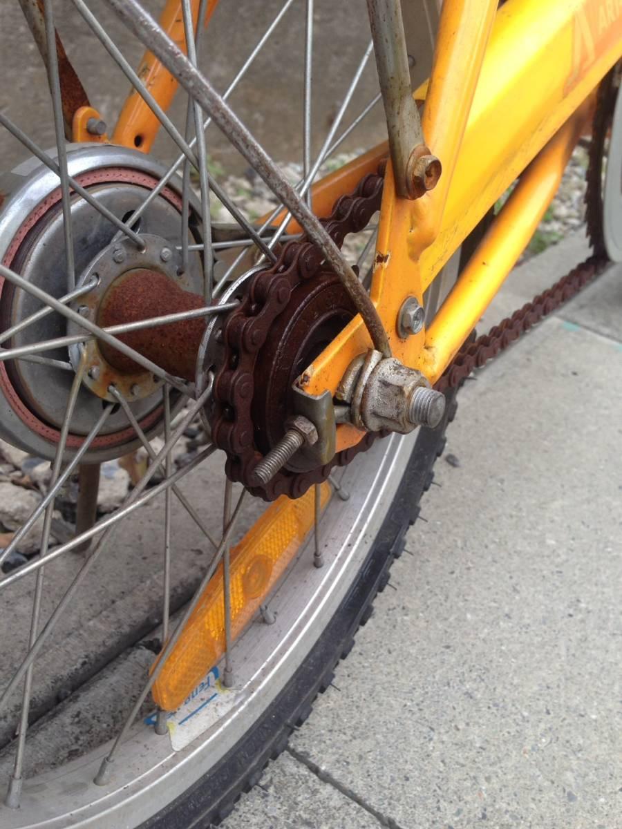 【中古】折りたたみ 自転車 OTOMO(RAYCHELL) ARUN(アラン)ART-RUN 16型_画像8