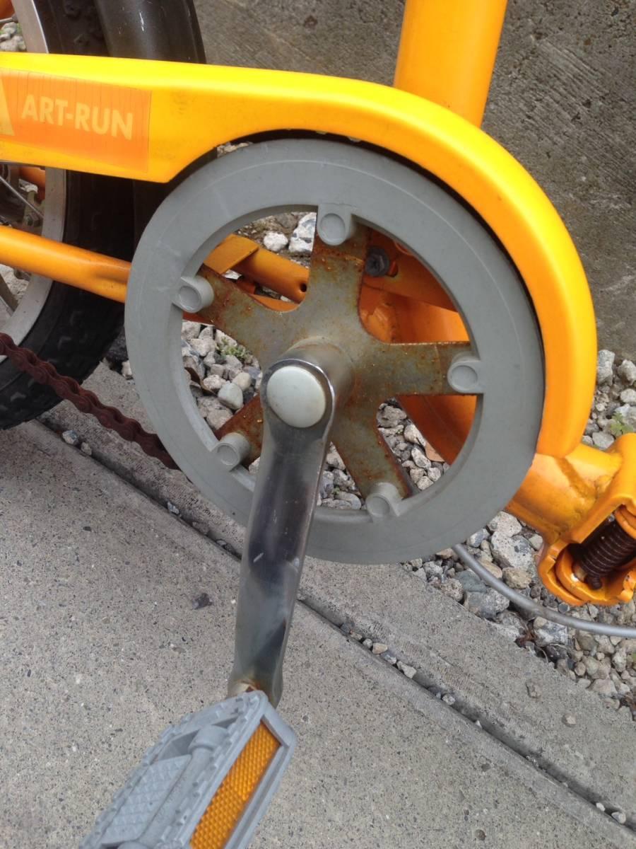 【中古】折りたたみ 自転車 OTOMO(RAYCHELL) ARUN(アラン)ART-RUN 16型_画像5