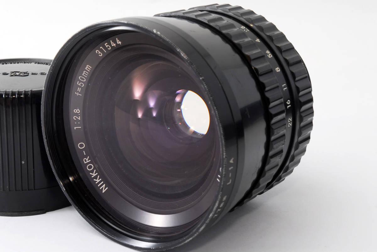★良品★NIKON ニコン NIKKOR-O 50mm f2.8