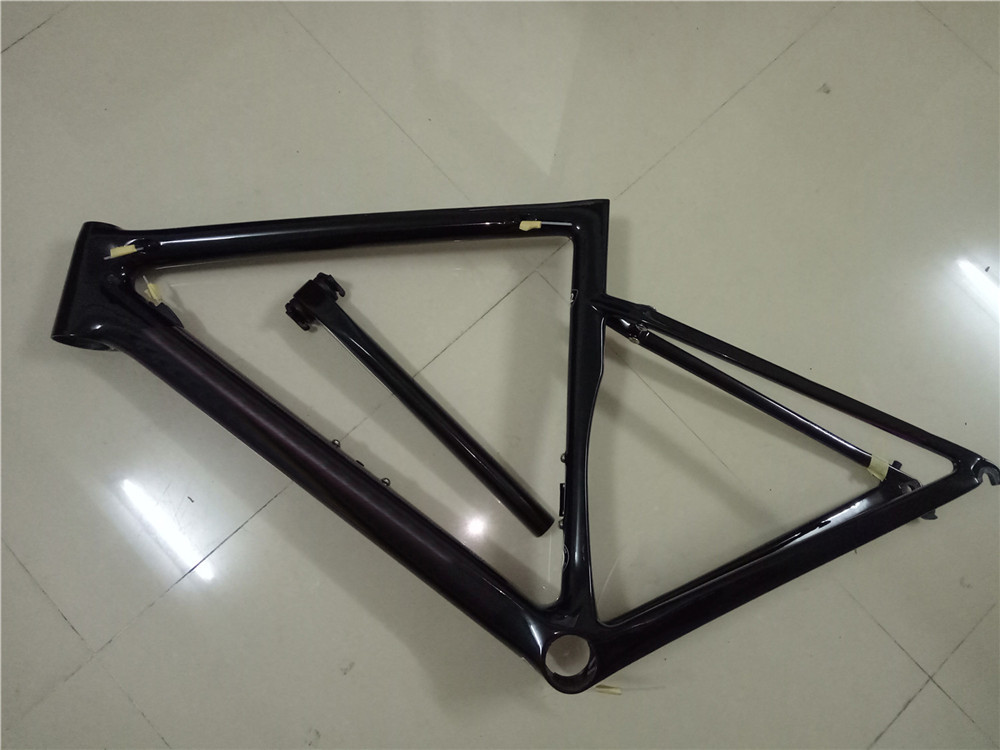 新品 カーボンフレーム フレームセット ロードバイクフレーム 自転車フレーム 700C_画像3