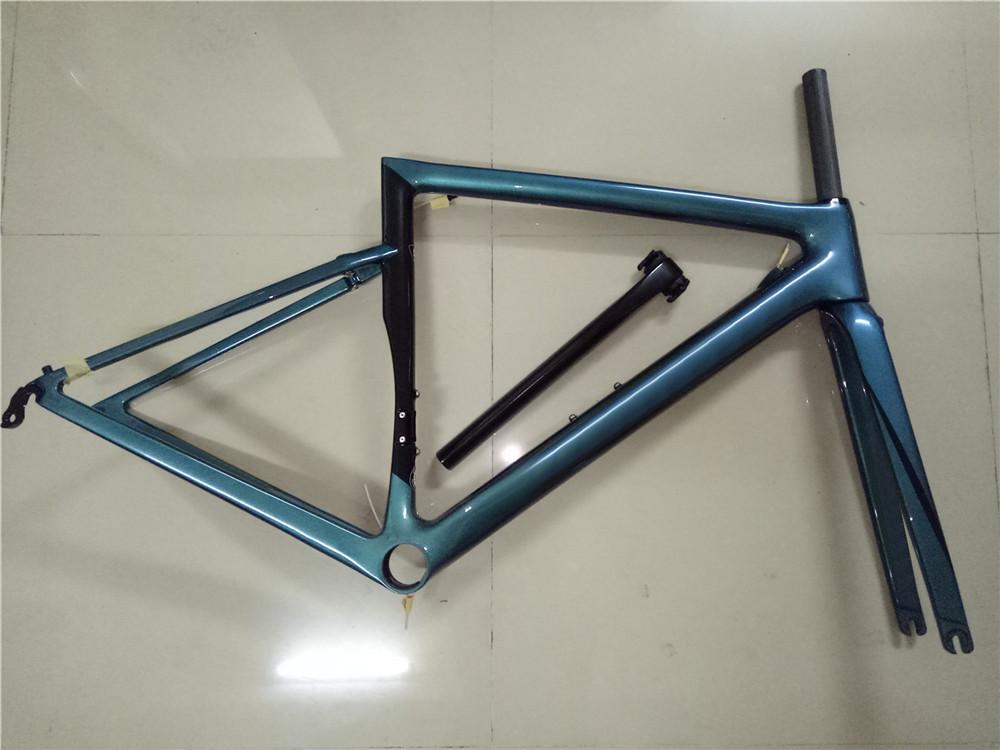 新品 カーボンフレーム フレームセット ロードバイクフレーム 自転車フレーム 700C_画像2