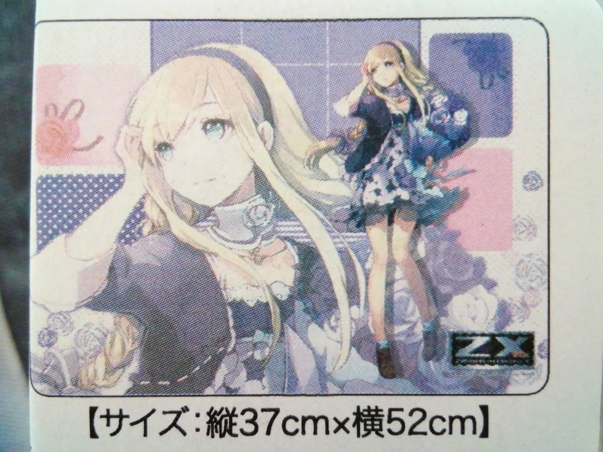 ブロッコリー ラバープレイマット Z/X -Zillions of enemy X- 「上柚木綾瀬(花)」ゼクス_画像1