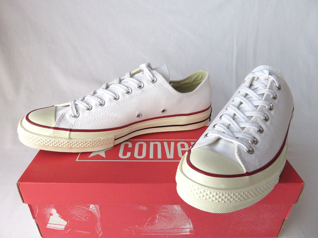 dd2a07a7e63cc3 new goods Converse First String 1970 Chuck Taylor Ox white US9 zipper Taylor  all Star low