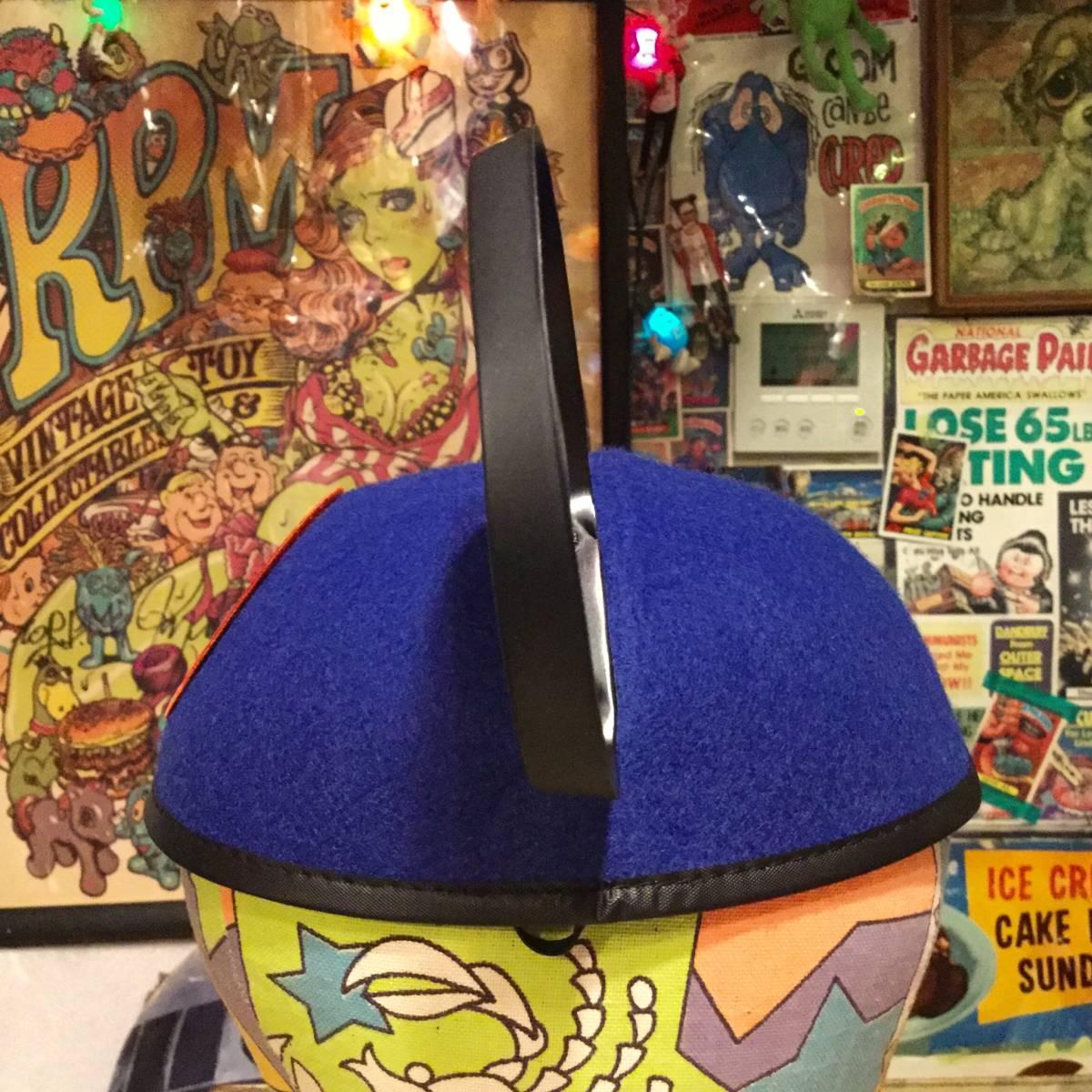 USA ディズニー ワールド 限定 ミッキーマウス イヤー ハット キャップ ブルー MICKEY MOUSE 耳付き 帽子 Disney World ディズニーランド _画像4