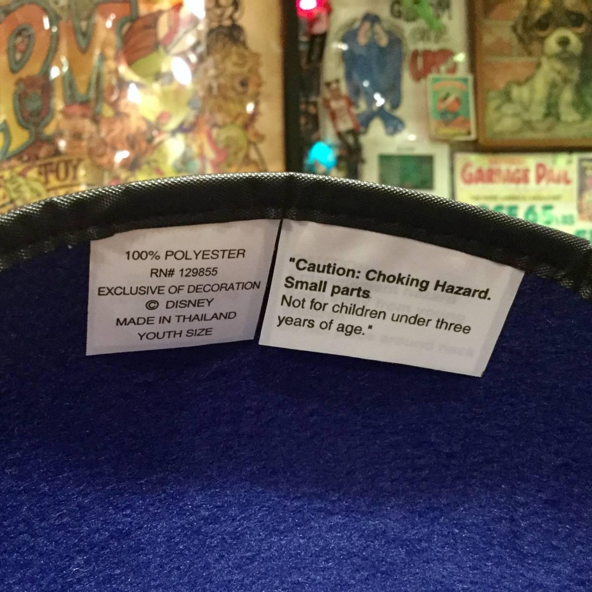 USA ディズニー ワールド 限定 ミッキーマウス イヤー ハット キャップ ブルー MICKEY MOUSE 耳付き 帽子 Disney World ディズニーランド _画像7