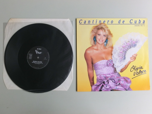 H フランス Cantinero de Cuba  OLIVIA VALERE LP_画像1