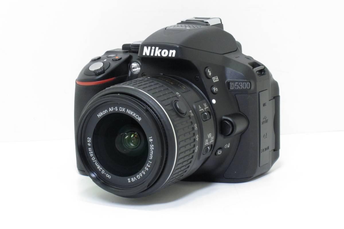 Nikon D5300 レンズキット 美品!