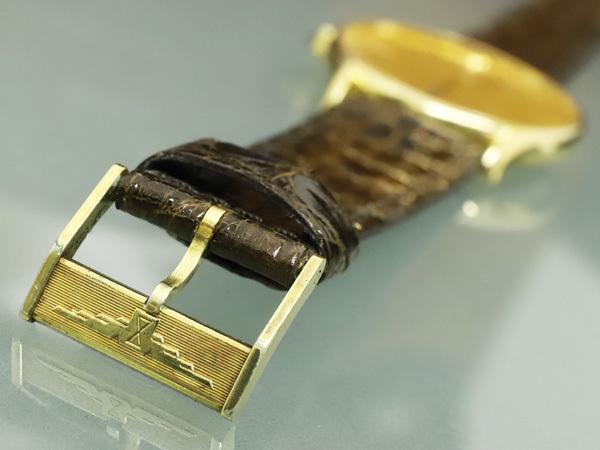超美品 ロンジン LONGINES 金無垢 K18 イエローゴールド オートマチック ツインバレル 自動巻紳士腕時計 メンズウォッチ 本物 正規_画像9