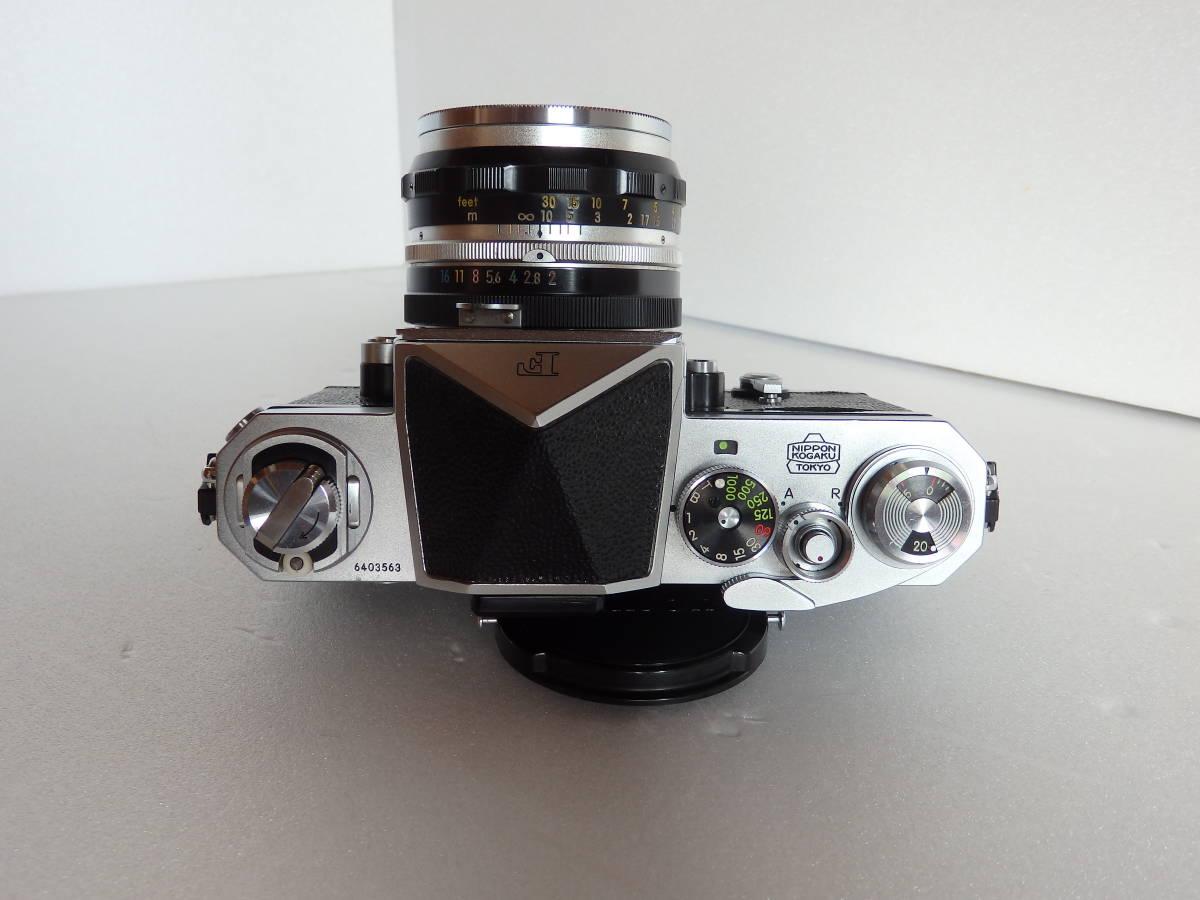 Nikon F ニコンF 初期 6403563 ヴィンテージ_画像3