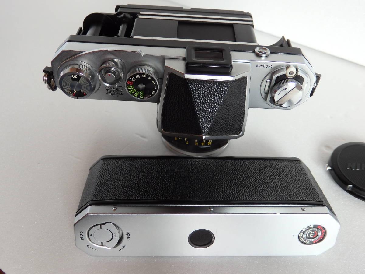 Nikon F ニコンF 初期 6403563 ヴィンテージ_画像5