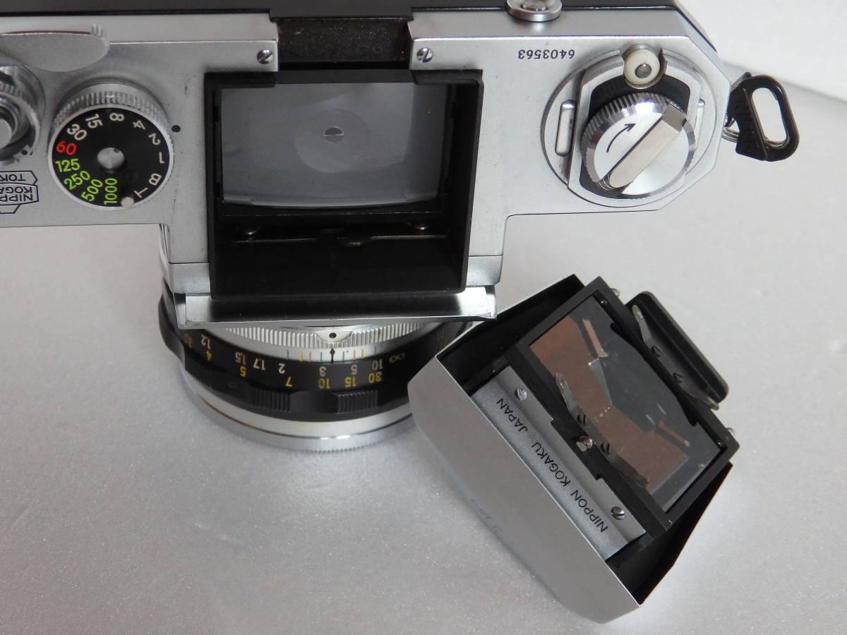 Nikon F ニコンF 初期 6403563 ヴィンテージ_画像6