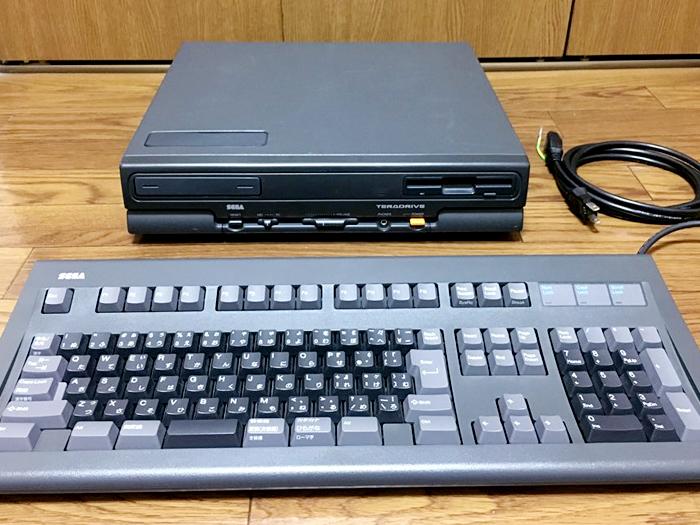 【美品】SEGA テラドライブ MODEL-3 HTR-2002 通電確認 動作未確認