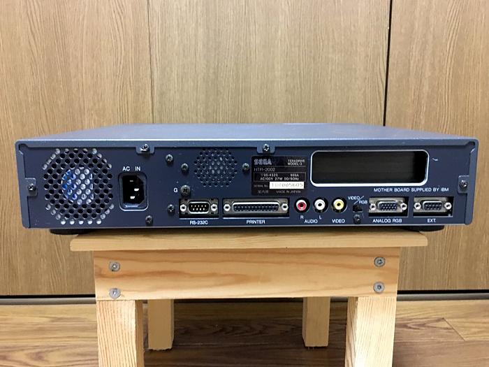 【美品】SEGA テラドライブ MODEL-3 HTR-2002 通電確認 動作未確認_画像3