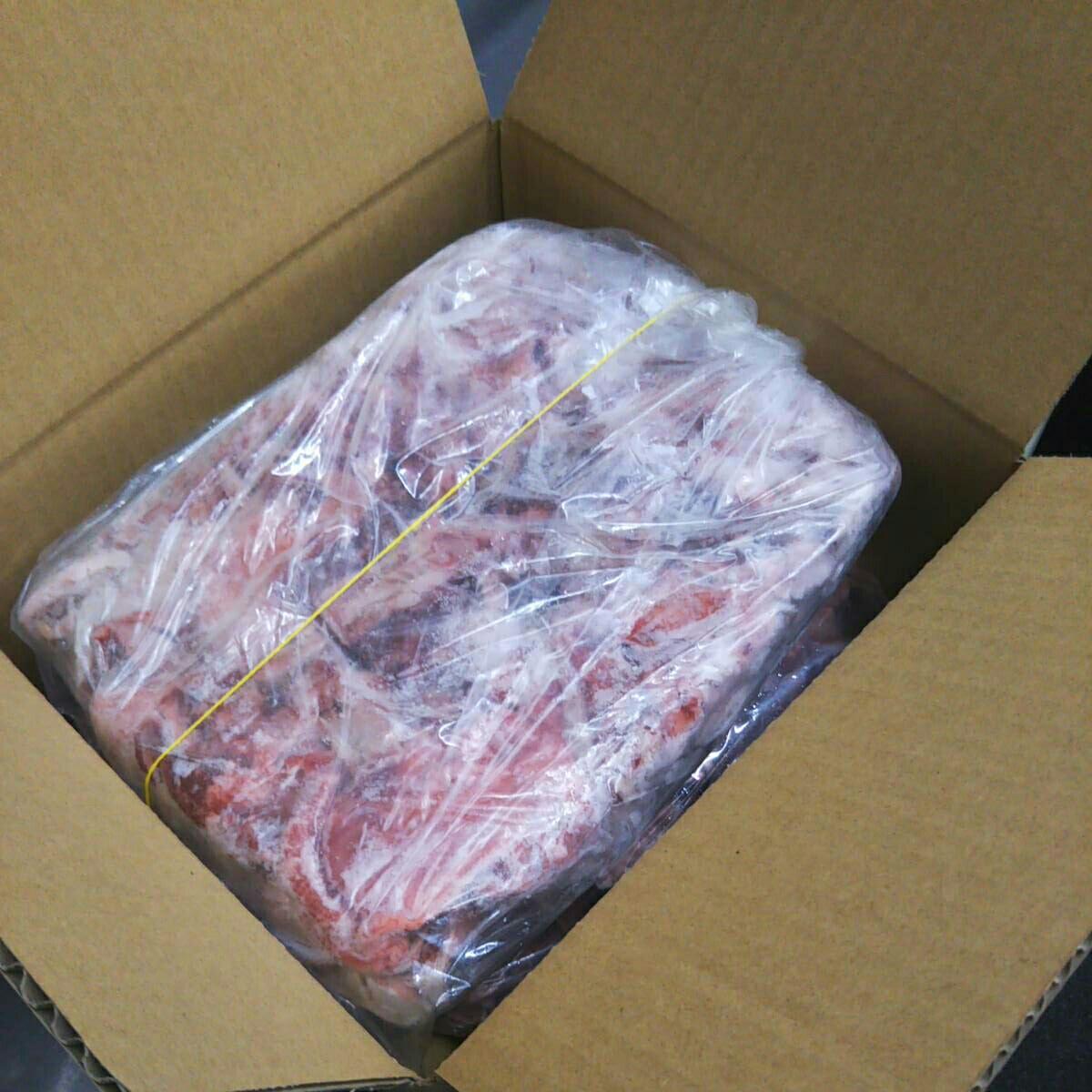 1円スタート 在庫SALE 冷凍牛すじ肉 2kg(1kg×2)_画像2