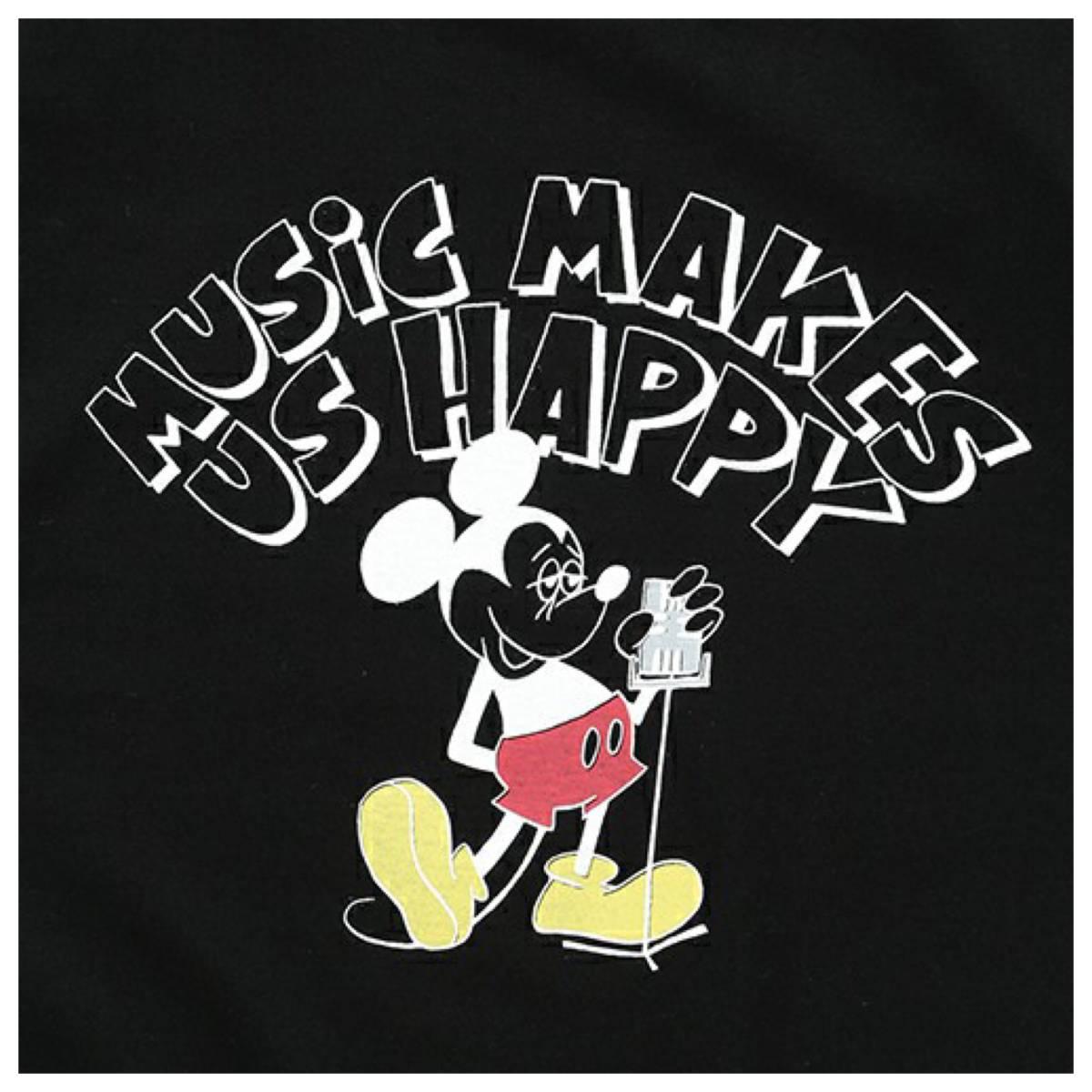 b79a058de rare FUJI ROCK FESTIVAL'17 × BEAMS / Yusuke Hanai Mickey Mouse Let It Rock! Tee  Shirts M size black *