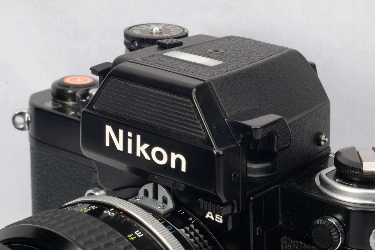 Nikon ニコン Nikkor 一眼レフ F2 用 フォトミック AS ファインダーDP-12 中古 箱付 保管品 ( F F2 アイレベル DS-12 露出計 _画像8