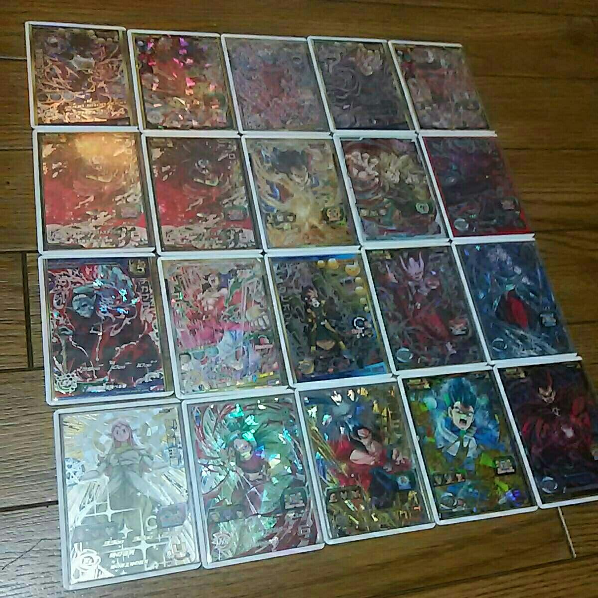 ドラゴンボールヒーローズほぼ高レートシークレット32枚UR7枚プロモ1枚セット_画像2