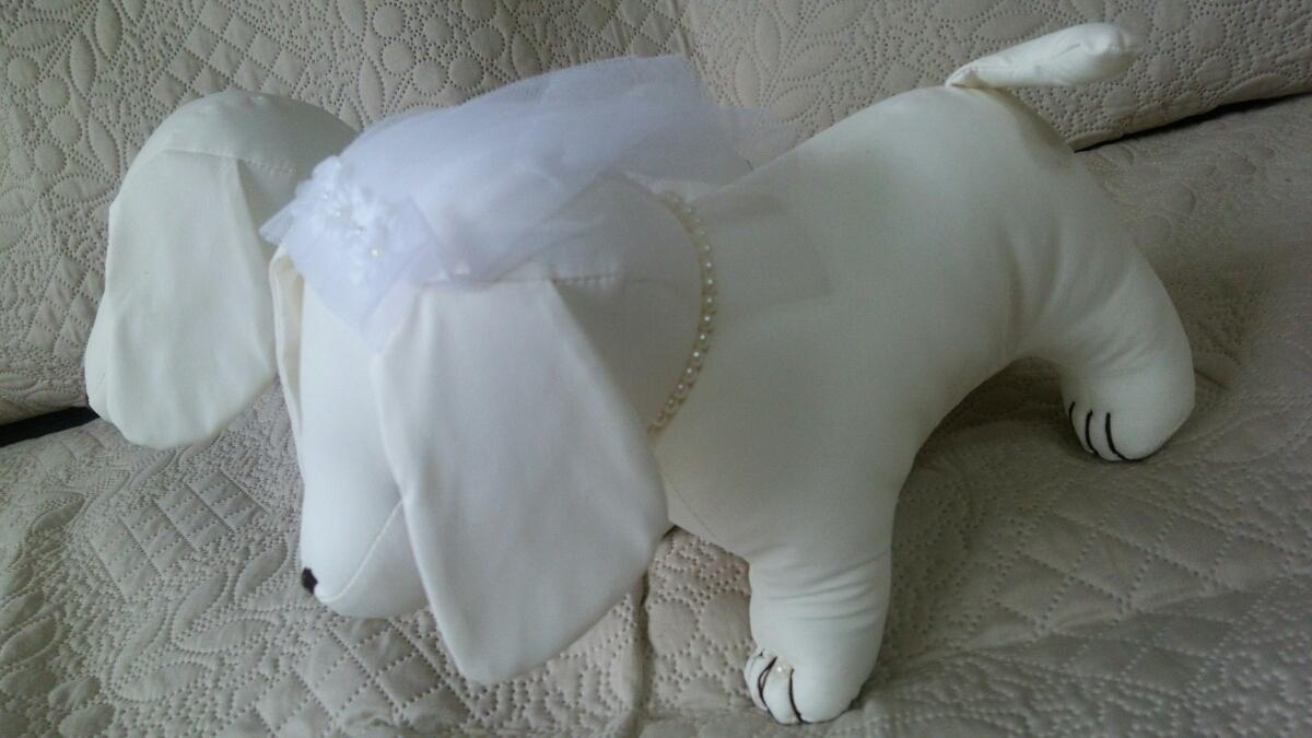 ウェルカムドール ウェディング結婚式 披露宴 ダックスフンド ぬいぐるみ メッセージ 犬_画像5