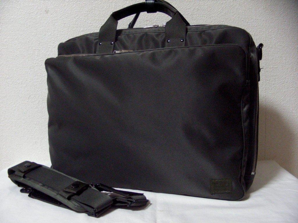 bid   prompt decision!  Porter   lift  LIFT 2WAY briefcase (2 layer ... 66d70a10f7a80