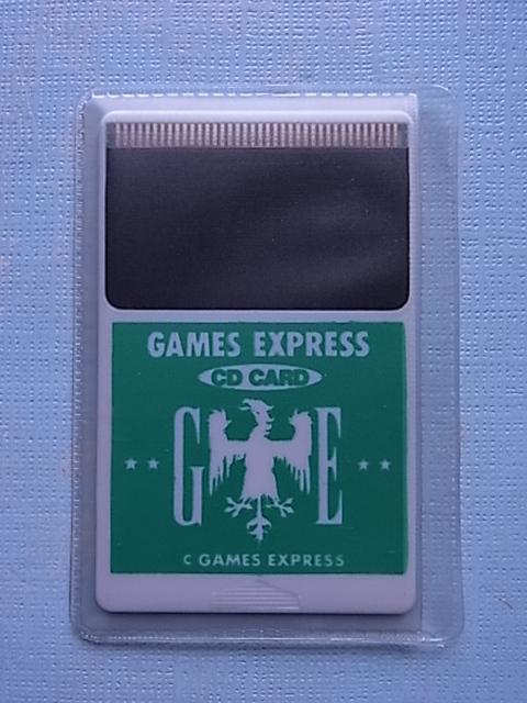 当時物!未使用品!◆PCエンジン CD CARD GAMES EXPRESS 緑 極美品!◆PC ENGINE DUO & DUO-R DUO-RX_画像4