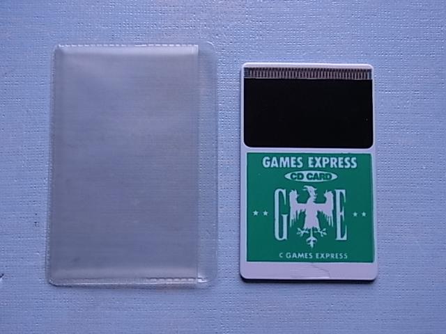 当時物!未使用品!◆PCエンジン CD CARD GAMES EXPRESS 緑 極美品!◆PC ENGINE DUO & DUO-R DUO-RX