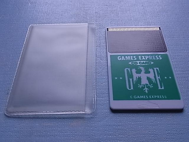 当時物!未使用品!◆PCエンジン CD CARD GAMES EXPRESS 緑 極美品!◆PC ENGINE DUO & DUO-R DUO-RX_画像2