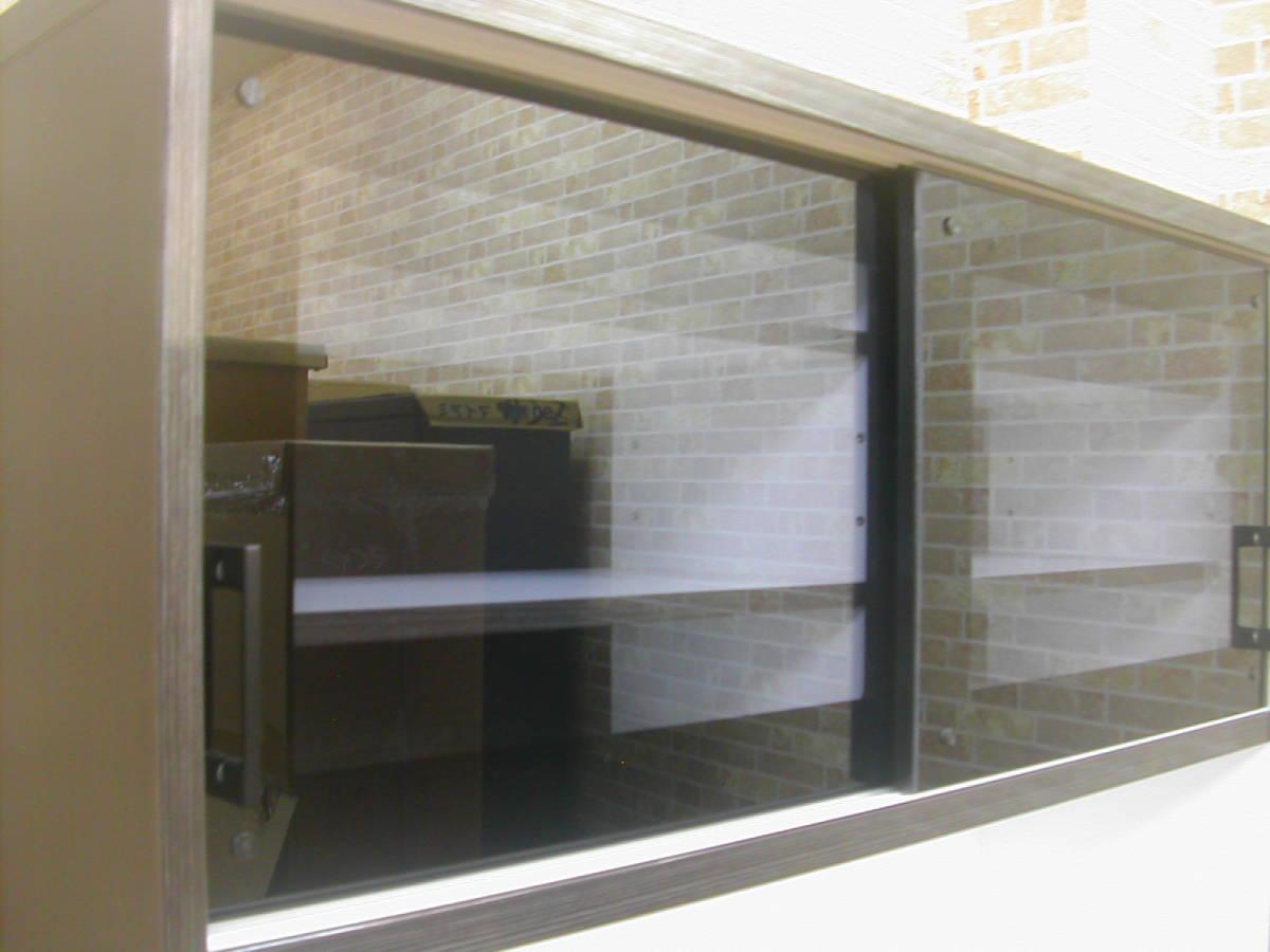 アウトレット送料無料!レンジボード・キッチン収納・食器棚・国産品・展示品_画像3