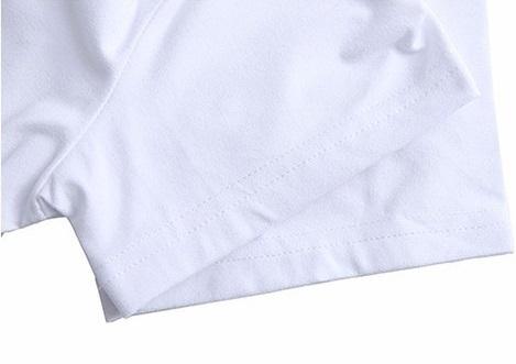 ♪3D 犬 おもしろ メンズTシャツ S M L LL 2L 3L ホワイト 白 ラブラドール レトリバー ☆新品未使用品☆送料無料☆★_画像3
