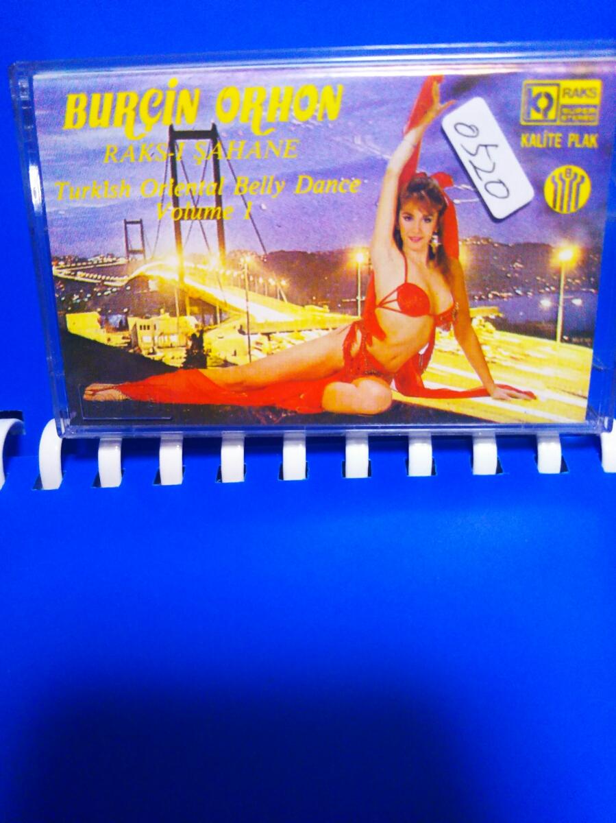 ymk0520現地調達激レアレトロ イスタンプール ベリーダンス カセットテープ コレクターズアイテム_画像1
