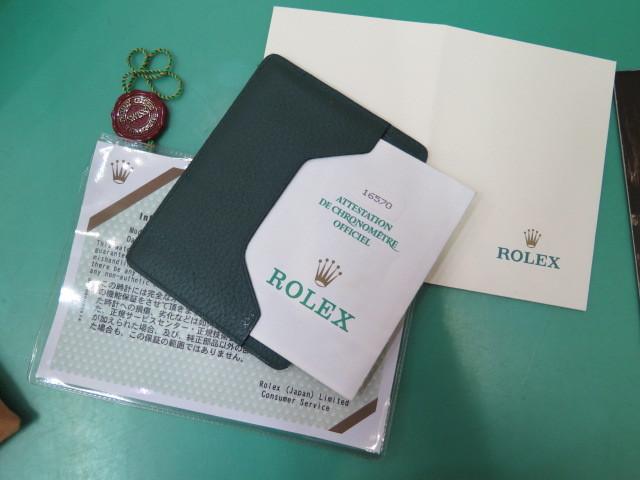 ROLEX ロレックス エクスプローラーⅡ 16570 白文字盤 T番_画像7