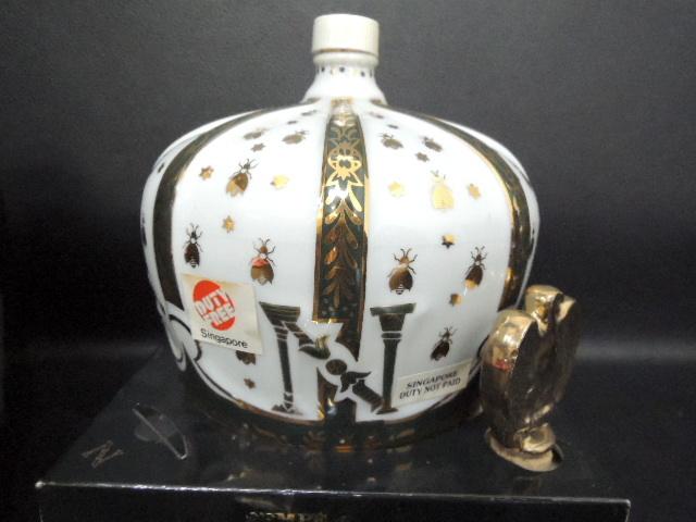 古酒 CAMUS カミュ ブック / SEMPE サンペ 王冠 クラウン ナポレオン 陶器ボトル 2点セット リモージュ 未開栓_画像7