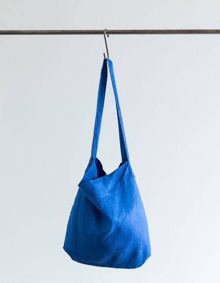 フォグリネンワーク ケイト ショルダー バッグ マリンブルー バッグ fog linen work ショルダーバッグ 麻バッグ 新品